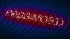 Conceito da segurança do Cyber Imagens de Stock