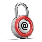 Conceito da segurança do Internet Foto de Stock Royalty Free
