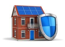 Conceito da segurança Home Imagem de Stock