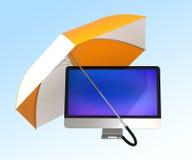 Conceito da segurança informática Fotografia de Stock
