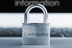 Conceito da segurança informática Imagem de Stock Royalty Free