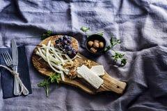Conceito da tabela de café da manhã Fotos de Stock
