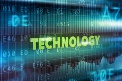Conceito da tecnologia Imagem de Stock