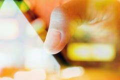 Conceito da tecnologia de comunicação Imagem de Stock