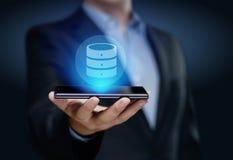 Conceito da tecnologia do Internet do negócio dos dados da rede do servidor Fotos de Stock
