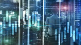 Conceito da tecnologia do Internet da proteção de dados da privacidade da informação de Cybersecurity ilustração do vetor