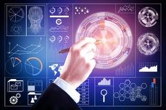 Conceito da tecnologia e da comunicação Imagem de Stock