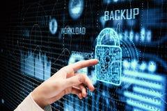 Conceito da tecnologia e da informação Imagem de Stock Royalty Free