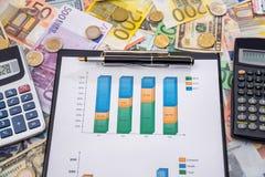 Conceito da troca do mercado de valores de ação foto de stock royalty free