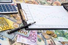 Conceito da troca do mercado de valores de ação fotos de stock royalty free