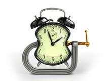 Conceito da urdidura de tempo ilustração do vetor
