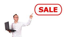 Conceito da venda fotos de stock