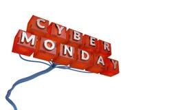 Conceito da venda de segunda-feira do Cyber ilustração stock
