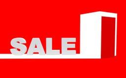Conceito da venda. ilustração 3D Imagens de Stock