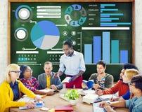 Conceito da visão da política de informação dos dados da estratégia do plano do planeamento Fotos de Stock