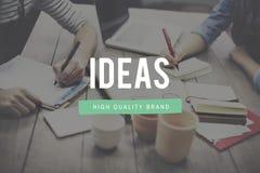 Conceito da visão da sugestão da estratégia da proposição das ideias Foto de Stock