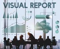 Conceito das estatísticas da analítica dos resultados do lucro de negócio imagem de stock