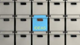 Conceito das idéias Imagens de Stock