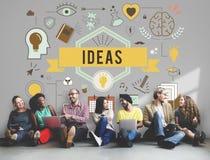 Conceito das táticas da estratégia da proposta do plano de desenvolvimento da ação das ideias Imagens de Stock