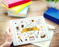 Conceito das táticas da estratégia da proposta do plano de desenvolvimento da ação das ideias Fotos de Stock Royalty Free