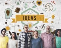 Conceito das táticas da estratégia da proposta do plano de desenvolvimento da ação das ideias Fotografia de Stock Royalty Free