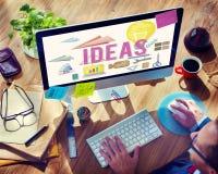 Conceito das táticas da sugestão da estratégia da proposição das ideias Imagens de Stock