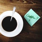 Conceito de Barista Beverage Relaxation Steam da cafeína do café imagens de stock royalty free
