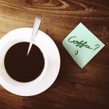 Conceito de Barista Beverage Relaxation Steam da cafeína do café imagem de stock