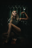 Conceito de BDSM e de sujeição Imagem de Stock Royalty Free