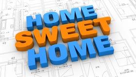 Conceito de bens imobiliários ilustração royalty free