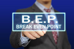 Conceito de BEP imagem de stock