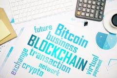 Conceito de Bitcoin foto de stock royalty free