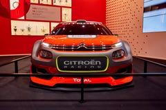 Conceito 2016 de Citroen C3 WRC Fotografia de Stock