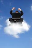 Conceito de computação da nuvem imagens de stock