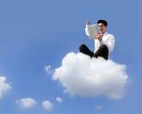 Conceito de computação da nuvem Imagem de Stock