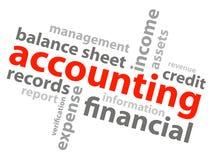 Conceito de contabilidade ilustração do vetor