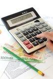 Conceito de contabilidade Foto de Stock Royalty Free