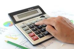 Conceito de contabilidade Imagens de Stock