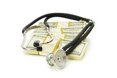 Conceito de cuidados médicos caros Fotos de Stock