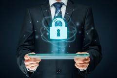 Conceito de Cybersecurity Imagens de Stock