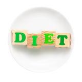 Conceito de dieta Fotografia de Stock Royalty Free