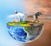 Conceito de Eco Fotos de Stock