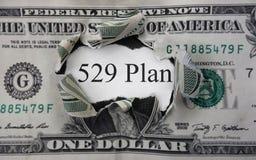 conceito de 529 economias da faculdade Fotografia de Stock