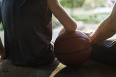 Conceito de Exercise Sport Stadium do atleta do jogador de basquetebol Imagens de Stock Royalty Free