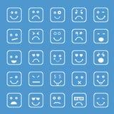 Conceito de expressões diferentes Foto de Stock