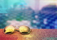 Conceito de Eyeware Fotos de Stock