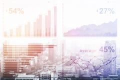 Conceito de Fintech Imagem de Stock