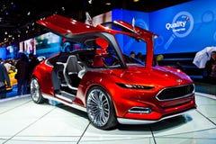 Conceito de Ford Evos imagem de stock royalty free