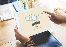 Conceito de Guru Master Mentor Leader Professional Foto de Stock Royalty Free