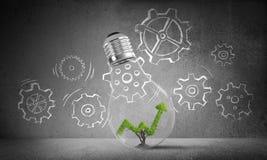 Conceito de inovações eficazes do mercado Foto de Stock